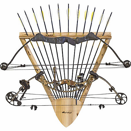 Rush Creek Creations 2-Bow 12-Arrow Wall Rack