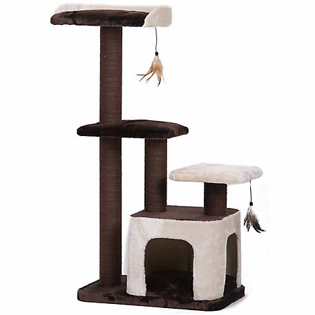 PetPals Creme Cat Tree