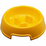 PetPals Slow Feeder, Yellow