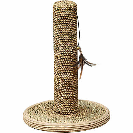 PetPals Seagrass Post Cat Scratcher