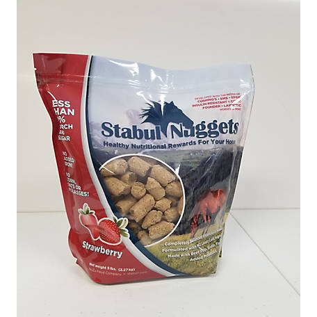 Stabul Nuggets Strawberry, 5 lb.