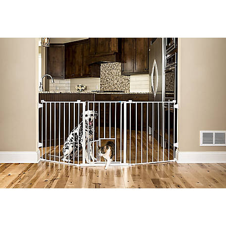 Carlson Flexi Pet Gate, 30-1/2 in. H