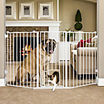 Carlson Extra Tall Flexi Pet Gate, 38 in. H