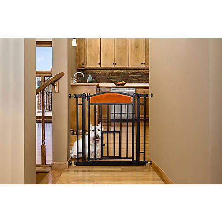 Carlson Design Paw Easy Close Walk-Through Pet Gate, 3030 DS