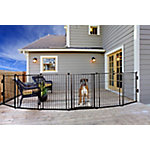 Carlson Outdoor 2-in-1 Super Wide Gate and Pet Yard