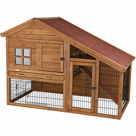 Trixie Pet Products Rabbit Hutch with a View