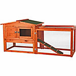 Trixie Pet Products Rabbit Hutch with Outdoor Run, Extra-Small