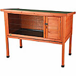 Trixie Pet Products 1-Story Rabbit Hutch, Medium