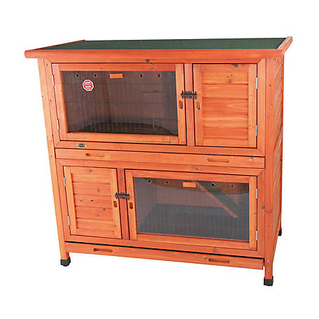 Trixie Pet Products 2-in-1 Rabbit Hutch with Insulation