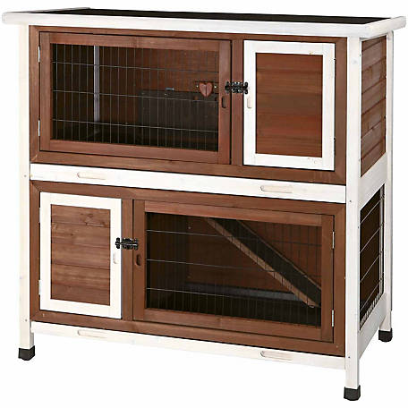 Trixie Pet Products 2 stories Rabbit Hutch, Medium