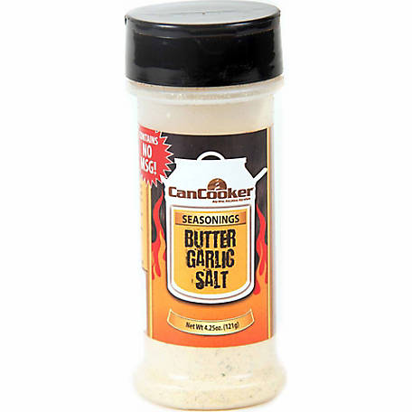 CanCooker Butter Garlic Salt, 4.25 oz.