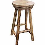 Rush Creek Creations Swivel Bar Stool