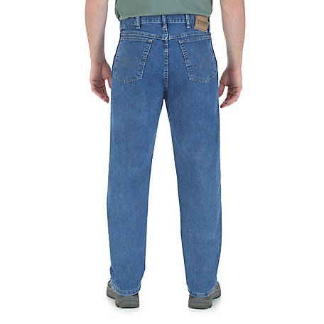 Wrangler Men's Rugged Wear Relaxed Stretch Flex Denim Jean
