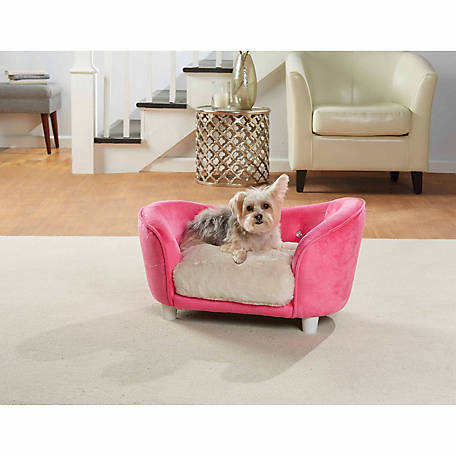 Charmant Enchanted Home Pet Ultra Plush Snuggle Pet Sofa, Pink At Tractor Supply Co.