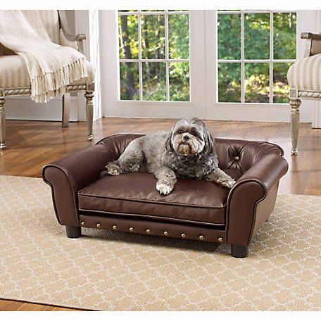 Enchanted Home Pet Brisbane Tufted Pet Sofa