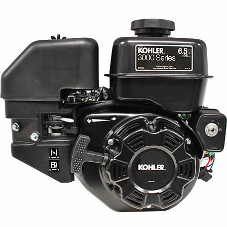 Kohler SH265 6.5 HP Engine, (Horizontal Shaft) Single Cylinder 3/4 in. Crankshaft with Electric Start with Recoil