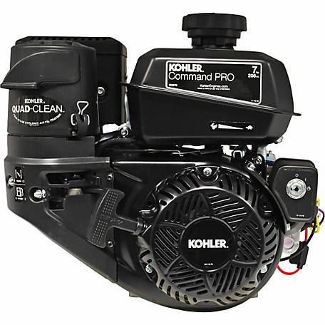 Kohler Command Pro Commerical Series 7 HP Engine CH270-3021, 3 A Charging, Electric Start