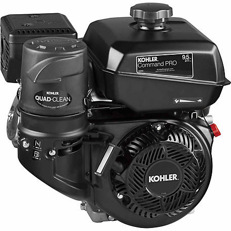 Kohler Command PRO Commercial Series 9.5 HP, CH395-3016 Crankshaft, Tapered Crankshaft, Generator Engine