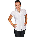 Scully Cantina Collection Women's Tone On Tone Lace Stripe Blouse