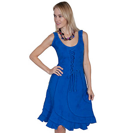 Scully Women's Sleeveless Dress 100% Peruvian Cotton
