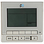 Perfect Aire Wired Wall Remote Controller with Timer/Clock Function