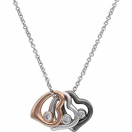 Montana Silversmiths Hearts of a Different Color Necklace