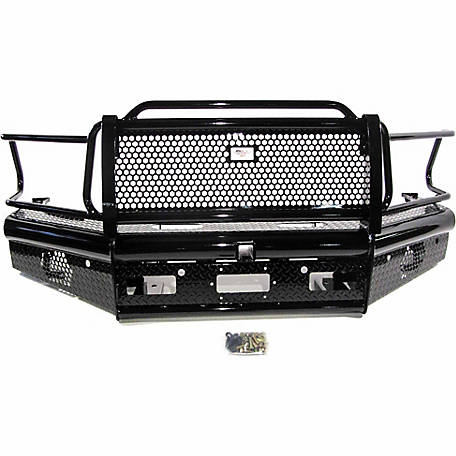 American Built Truck Equipment Dodge 2500/3500 2010-2016 Heavy Duty-Pipe Front Bumper