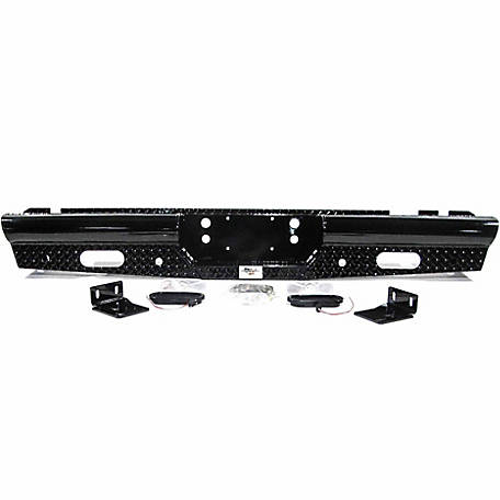 American Built Truck Equipment Ford F250/F350 1999-2016 Heavy-Duty Pipe Rear Bumper