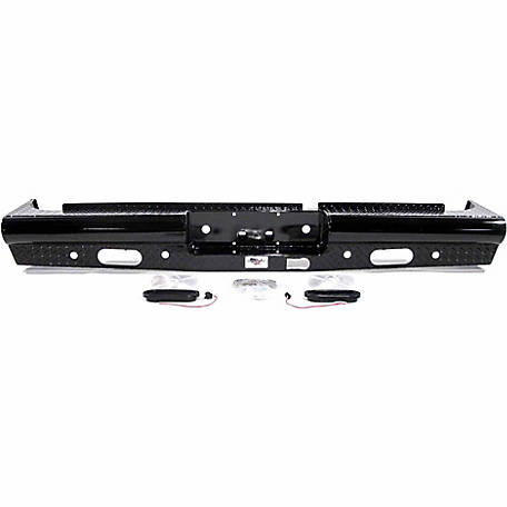 American Built Truck Equipment Dodge 2500/3500 2014-2016 Heavy-Duty Pipe Rear Bumper