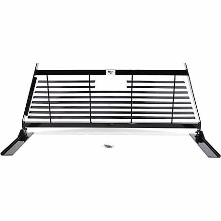 American Built Truck Equipment Ford F250/F350 Contractor Headache Rack, Black