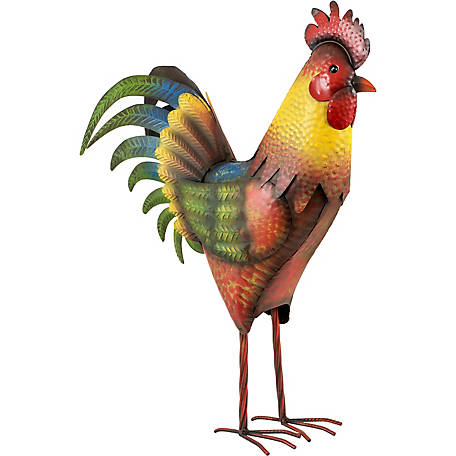 Red Shed Tin Rooster 2 Ft At Tractor Supply Co