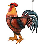 Red Shed Metal Rooster Wall Planters