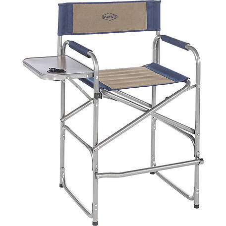Kamp-Rite High Back Director's Chair with Side Table