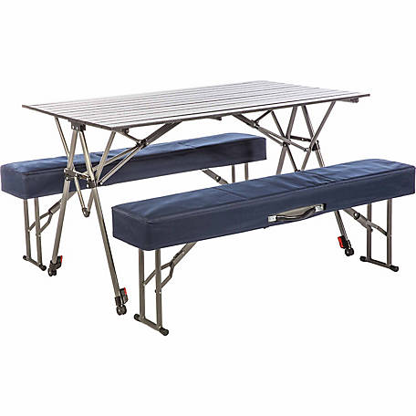 Kamp-Rite Kwik Set Table + Benches