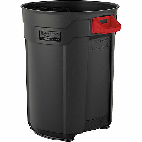 Suncast Commercial 55 Gallon Trash Can