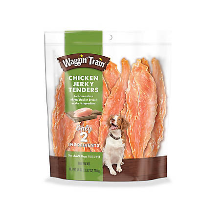 Waggin' Train Chunk Jerky, 18 oz.