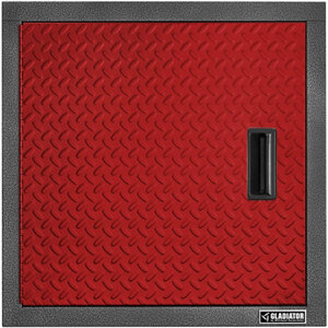 Gladiator Premier Series Steel 24 In. W Garage Wall Cabinet In Racing Red  Tread Plate At Tractor Supply Co.
