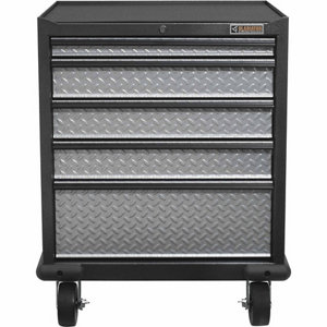 Gladiator Premier Series Steel 5 Drawer Rolling Garage Cabinet In Silver  Tread Plate At Tractor Supply Co.