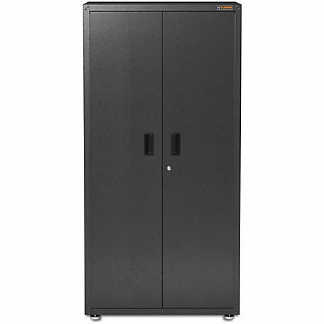 Gladiator Ready-to-Assemble 72 in. H Steel Freestanding Garage Cabinet in Hammered Granite
