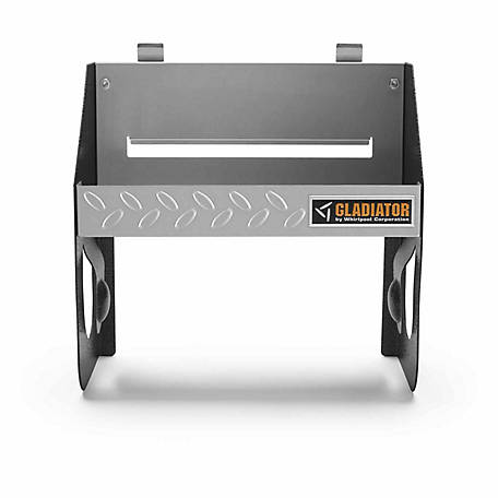 Gladiator 12 in. W Steel Garage Storage Clean-Up Caddy for GearTrack or GearWall