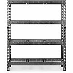 Gladiator 4-Shelf 72 in. H x 60 in. W x 18 in. D Welded Steel Garage Shelving Unit