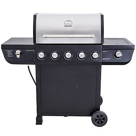 Even Embers Even Embers Five Burner Gas Grill, GAS7540BS