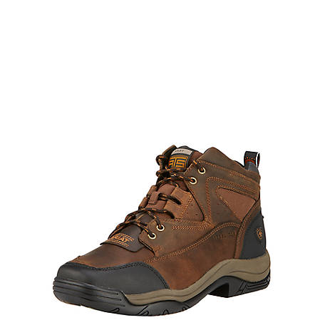 Ariat Men's Distressed Brown Steel Toe Work Boots