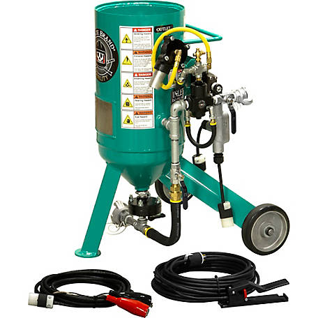 Pirate Brand CPR Jr. 0.5 cu. ft. Sandblaster Basic Package, Electric Controls