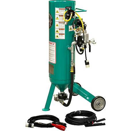 Pirate Brand CPR Jr. 1.0 cu. ft. Sandblaster Basic Package, Electric Controls