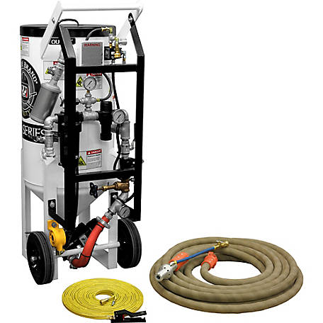 Pirate Brand Soda Storm 3.5 cu. ft. 3-in-1 with Blast Hose & WIN Nozzle