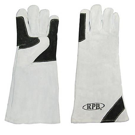 RPB Leather Blasting Gloves with Kevlar Stitching