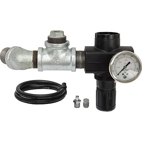 Pirate Brand Pressure Regulator Kit, 1-1/2 in., CPR 6.0 cu. ft. Blasters