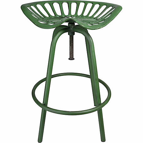 Tractor Seat Stool, Green
