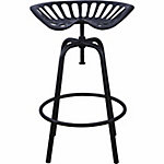 Tractor Seat Stool, Black